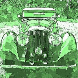 David King - Bentley Green Pop Art P2
