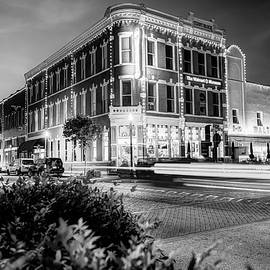 Gregory Ballos - Bentonville Arkansas Cityscape - Black and White