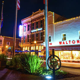 Gregory Ballos - Bentonville Town Square - Color