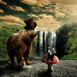 Berlin Bear by Nathan Wright