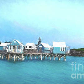 Bermuda Coastal Cabins by Luther Fine Art