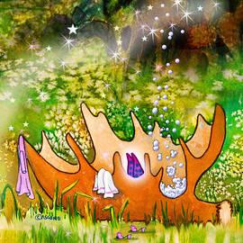 Berry Fairy Bubble Bath by Teresa Ascone