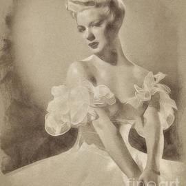 Betty Hutton, Vintage Actress by John Springfield - John Springfield