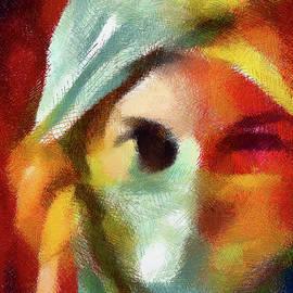 Georgiana Romanovna - Beware The Woman Who Appears Too Sweet Abstract Realism
