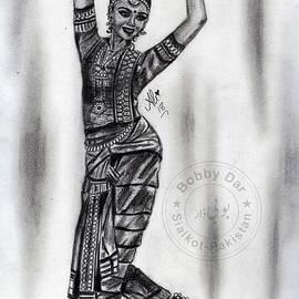 Bharatanatyam Dancer by Bobby Dar