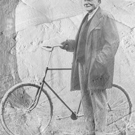 Bicycle And Jd Rockefeller Vintage Photo Art by Karla Beatty
