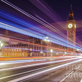 Mariusz Czajkowski - Big Ben London at night