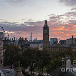 Mike Reid - Big Ben London Sunrise
