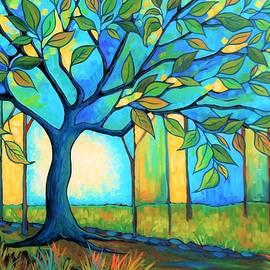 Peggy Davis - Big Blue Tree