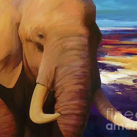 Big Elephant 01 by Gull G