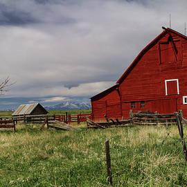 Big Red Barn by Alana Thrower