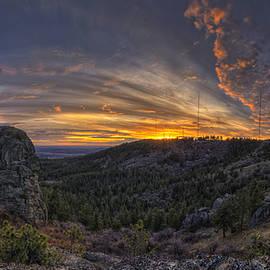 Big Rock Panorama by Mark Kiver