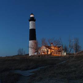 Michael Rucker - Big Sable Lighthouse Sunset