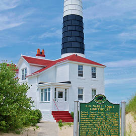 Thomas Woolworth - Big Sable Point LightHouse Michigan Vertical