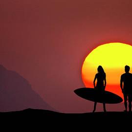 Sean Davey - Big Sun Surfers
