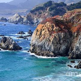 Big Sur Vista Waves by Rincon Road Photography