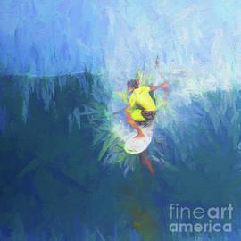 Scott Cameron - Big Wave Surfer Abstract