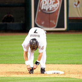 Biggio Tying Shoes by Teresa Blanton