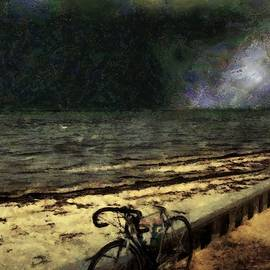 Bike at the Beach by RC DeWinter