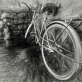 Gary Oliver - Bike in Charcoal