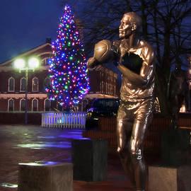 Joann Vitali - Bill Russell Statue - Boston