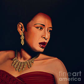 Billie Holiday by Paul Meijering