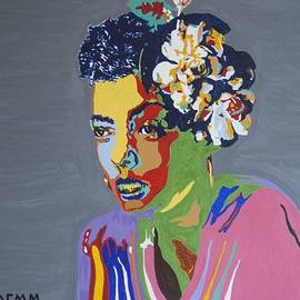 Billie Holiday by Stormm Bradshaw