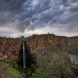 Billy Chinook Falls - Cat Connor