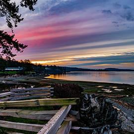 Bob VonDrachek - Birch Bay Sunrise