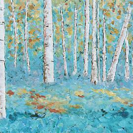 Joyce Wasserman - Birch trees