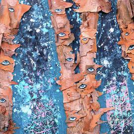 Genevieve Esson - Birch Trees With Eyes