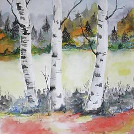 Barbara Teller - Birches