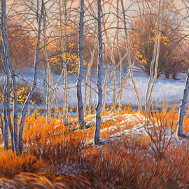 Fiona Craig - Birches in First Snow 2