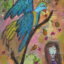 Bird Of Comfort and Healing by Marlena Leach