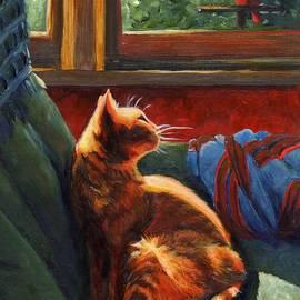 Birdie in the Window by Pat Burns