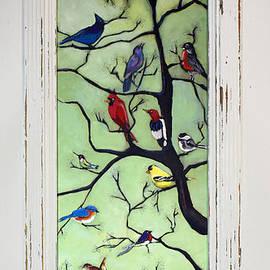 David Hinds - Birds In The Tree framed