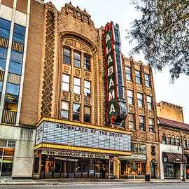 Birmingham Theater From Front by Michael Thomas