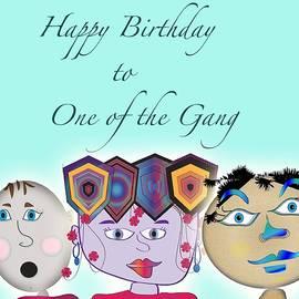 Iris Gelbart - Birthday card 4
