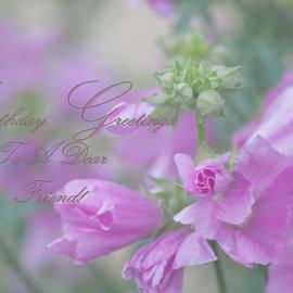 Sandra Foster - Birthday Greetings To A Dear Friend