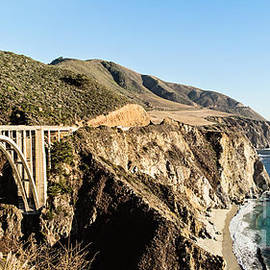 Bixby Bridge California Coast by Scott Pellegrin