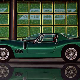 Bizzarrini 5300 GT Strada 1965 Painting by Paul Meijering