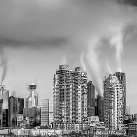 Yves Gagnon - Black and White City of Calgary