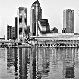 Frozen in Time Fine Art Photography - Black and White in the Heart of Tampa Bay