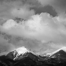 Black And White Mountains by Jennifer Myers