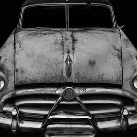 Stamp City - Black and White of 1951 Hudson Hornet