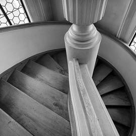 Black And White Stairs by Jenny Setchell