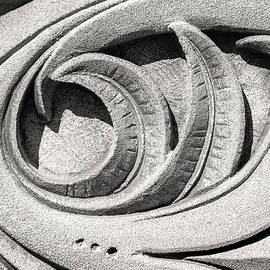 Don Johnson - Black and White Stone Carving