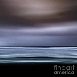 Black Beach Water by Patti Schulze