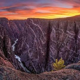 Black Canyon Of The Gunnison by Angela Moyer