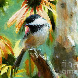 Tina  LeCour - Black Capped Chickadee